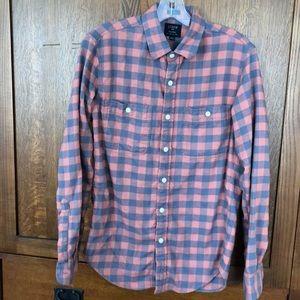 Men's J. Crew  long sleeve flannel shirt